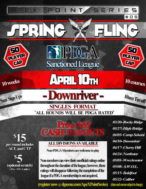 Spring Fling- Downriver . ApeX Point Series #5 graphic