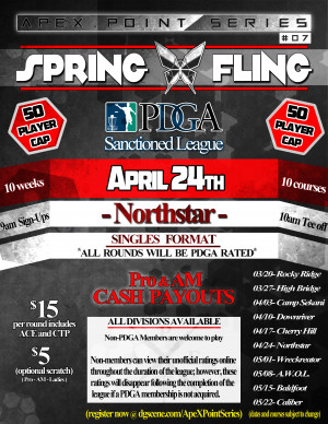 Spring Fling- Northstar . ApeX Point Series #7 graphic