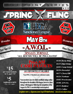 Spring Fling- A.W.O.L. . ApeX Point Series #9 graphic