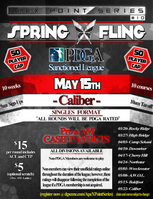 Spring Fling- Caliber . ApeX Point Series #10 graphic