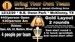 Bring your own TEAM (4) Basket Fundraiser & Jacket Clothing Drive graphic