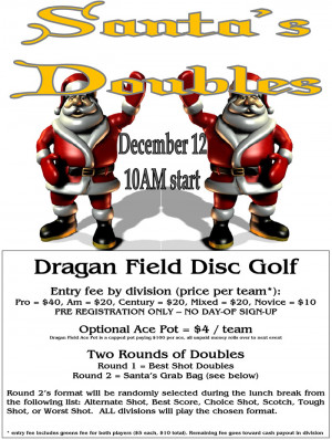 Santa's Doubles 2020 graphic