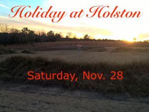 Holiday at Holston graphic