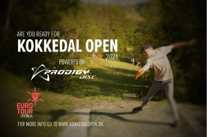 ET#1 - Kokkedal Open Powered By Prodigy Disc graphic