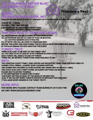 10th Annual Winter Blast graphic