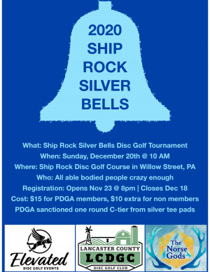 Ship Rock Silver Bells graphic