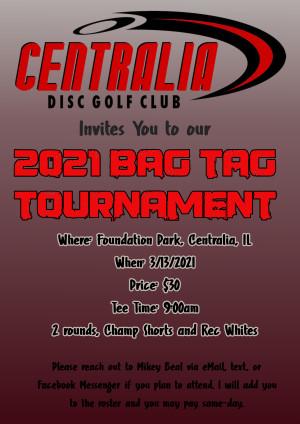 2021 CDGC Bag Tag graphic