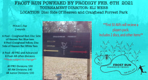 Frost Run Powered by Prodigy graphic
