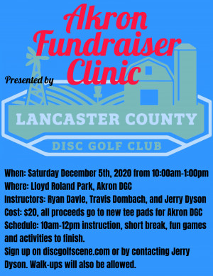 Akron Fundraiser Clinic graphic