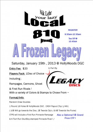 A Frozen Legacy graphic