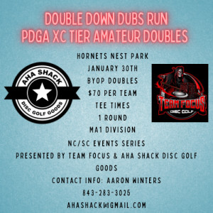 Double Down Dubs Run Event Series graphic