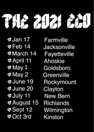 2021 ECO Tour Ahoskie graphic