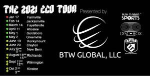 2021 ECO Tour Ahoskie graphic