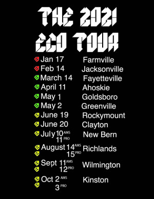 2021 ECO Tour Greenville graphic