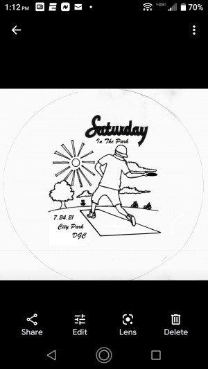 Saturday in the Park graphic