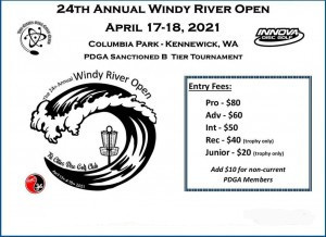 Windy River Open Presented by Innova graphic