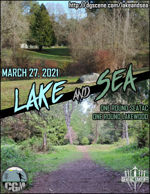 LAKE and SEA graphic