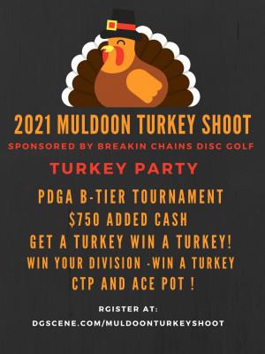 2021 Muldoon Turkey Shoot graphic