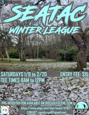 SeaTac Winter League 2021 - WEEK 6 graphic