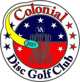 2021 Colonial Disc Golf Club Membership graphic