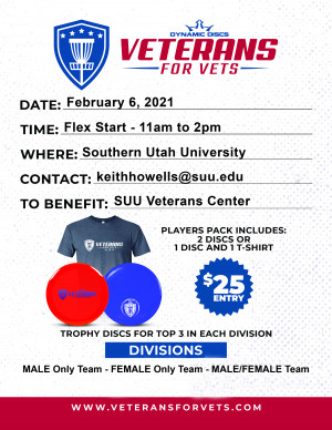 Veterans for Vets at SUU (Doubles) graphic