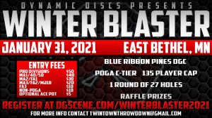 Winter Blaster presented by Dynamic Discs graphic