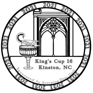 King's Cup 16 - Sponsored by Scorpion Disc Golf graphic