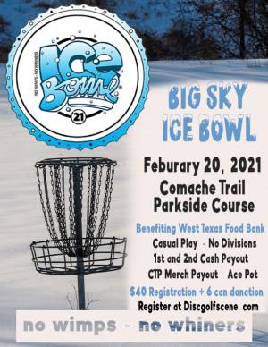 Big Sky Ice Bowl 2021 graphic