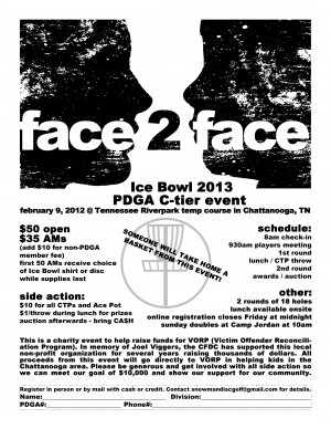 Face-2-Face Ice Bowl 2013 graphic