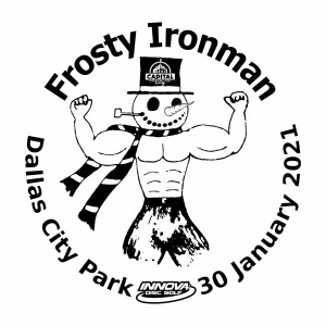 FROSTY IRONMAN CHALLENGE graphic
