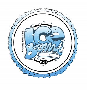 26th Rochester Ice Bowl Driven by Innova, Throw Pink and Lucky Disc Golf graphic