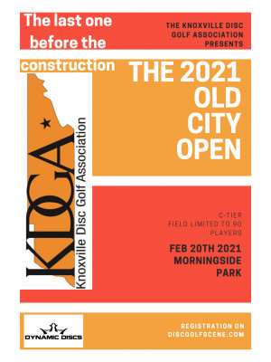The KDGA Presents: The 2021 Old City Open Sponsored by Dynamic Discs graphic