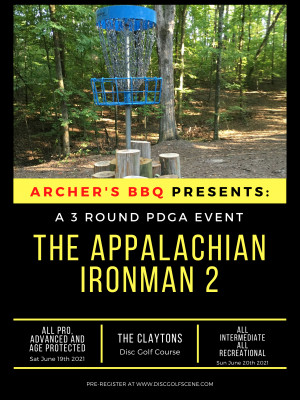 Archer's BBQ Presents: The 2021 Appalachian Ironman Day 1 graphic
