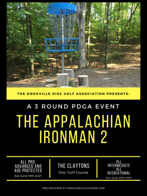 The KDGA Presents: The 2021 Appalachian Ironman Day 1 graphic