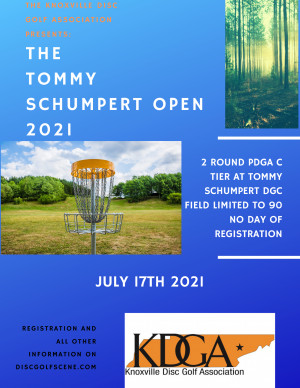 The KDGA Presents: The 2021 Tommy Schumpert Open graphic
