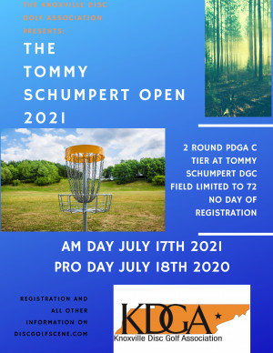 The KDGA Presents: The 2021 Tommy Schumpert Open Day 1 graphic