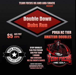 Double Down Dubs Run Kilbourne Park graphic
