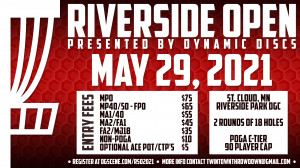Riverside Open presented by Dynamic Discs graphic