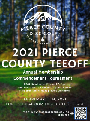 2021 Pierce County Teeoff - Club Member Only Event graphic