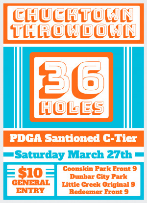 Chucktown ThrowDown 2021 (Stop 2.5) graphic