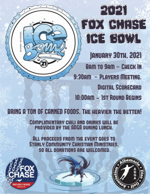 12th Annual Fox Chase Ice Bowl graphic