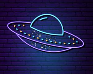 The UFO Returns! graphic