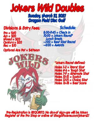 Jokers Wild Doubles 2021 graphic