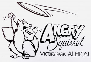 Angry Squirrel - Sun - 2021 graphic
