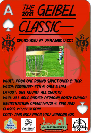 2021 Geibel Classic Sponsored by Dynamic Discs graphic