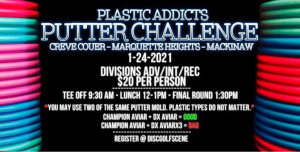 Plastic Addicts Putter Challenge graphic