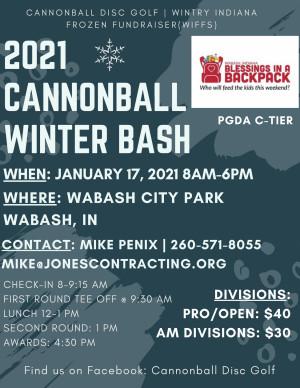 WIFFS #5 - Cannonball Winter Bash graphic