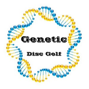 The Genetic Disc Golf Inception graphic
