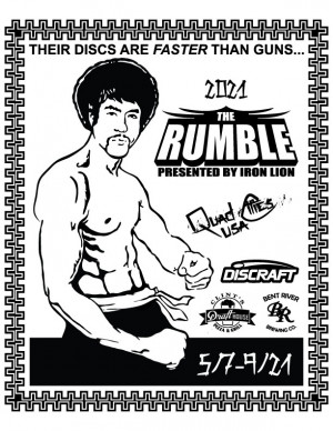 The Rumble by Iron Lion DGS graphic