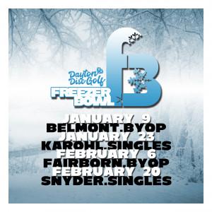 Dayton Disc Golf presents Freezer Bowl #3 BYOP graphic